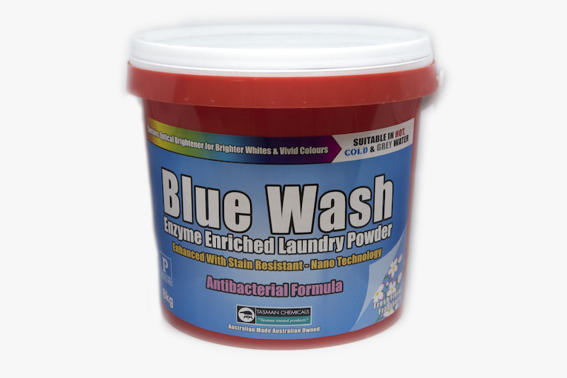 bluewash laundry powder the big bubble